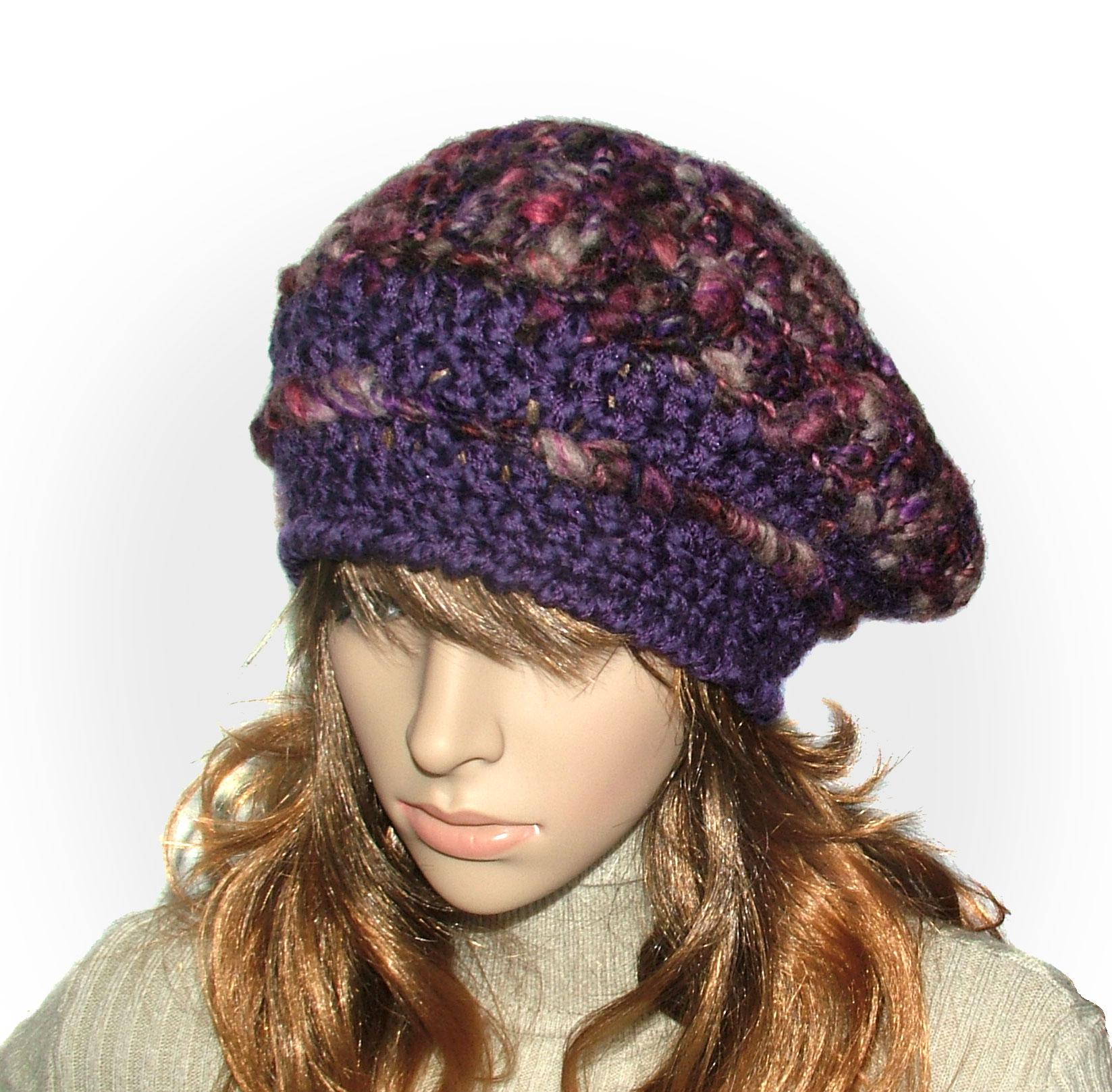 HATS, HEADWEAR Archive | Renate Kirkpatrick\'s Freeform Crochet~Knit ...