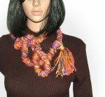Rainbow streamer scarf