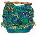Guru-deep-water - freeform handbag