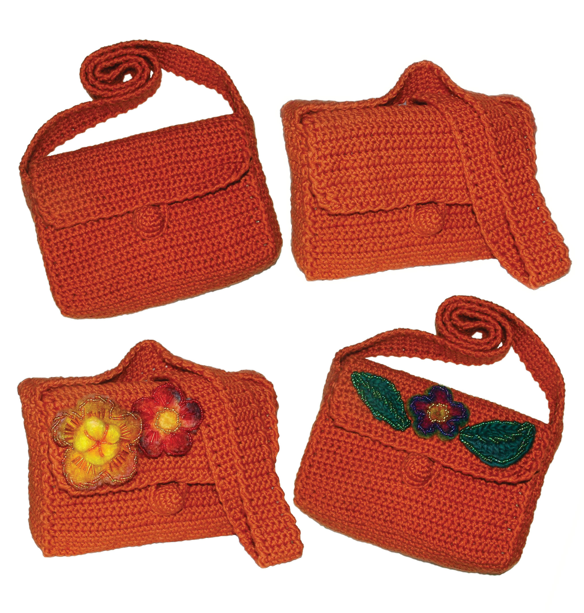 Crochet Bag Patterns Free Download : Easy Basic Crochet Bag/Purse Pattern