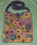 Spring - freeform floral bag