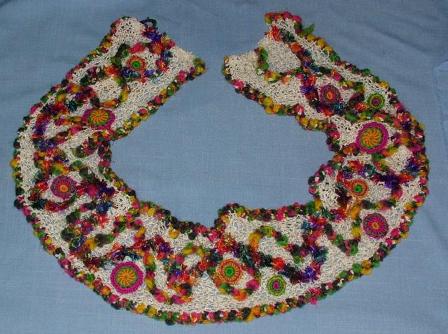 Guerilla pole knit/crochet