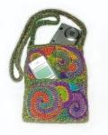 Carry safe - Freeform crochet camers/phone case