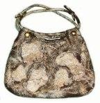 Marble & Stone - felted handbag