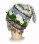 Unisex Knit/Felt Beanie - Country Life