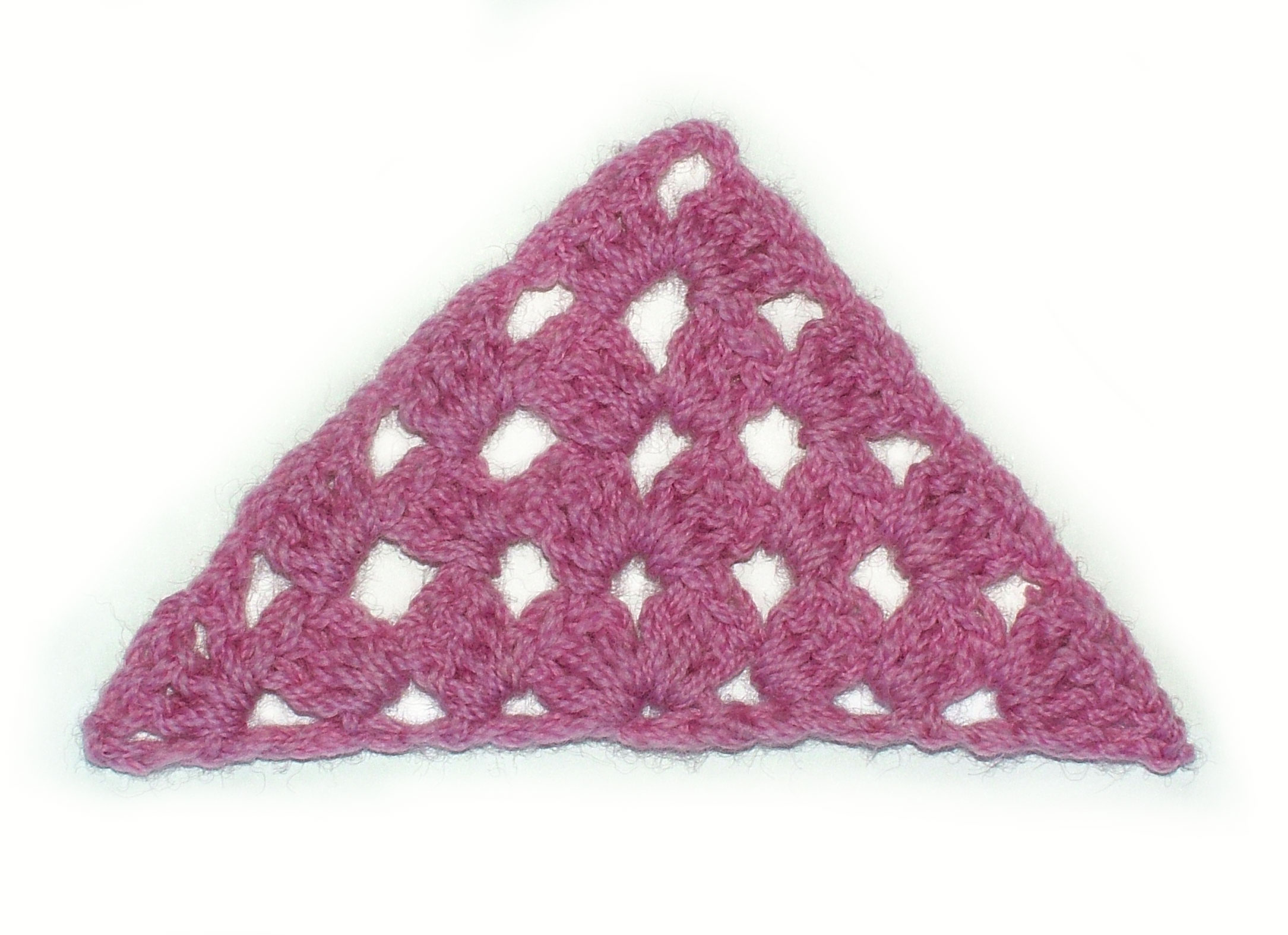 The Half Granny Square Renate Kirkpatricks Freeform Crochetknit