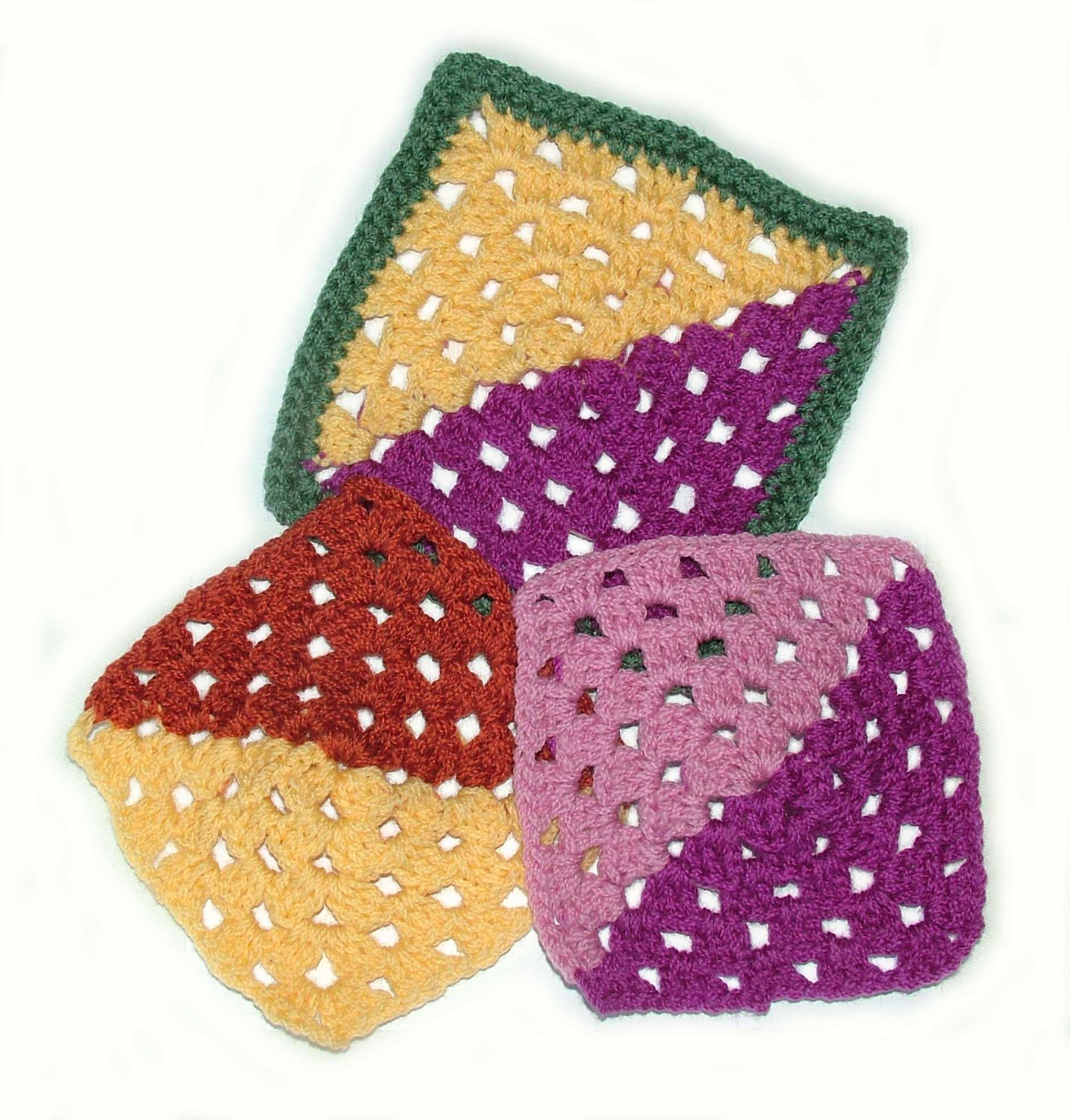 Granny Square Variations - Free Crochet Patterns for Granny Square