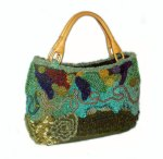 Scribbler - freeform handbag