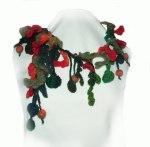 Freeform Crochet/felt Boa