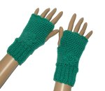 Emerald Fingerless Gloves