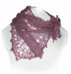 Freestyle Knit Mini Shawl