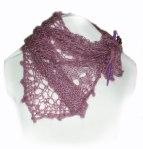 Freestyle Knit Mini Shawl