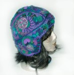 Ski Helmet - Earflap Beanie