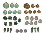 Polymer Shell Beads - mixed bag 2
