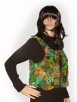 Green Freeform vest