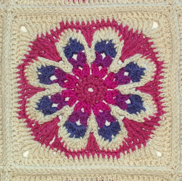 The Big Flower Afghan – A Crochet Pattern   Renate Kirkpatrick\'s ...