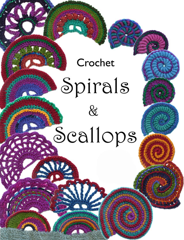 Crochet Scallops Spirals Ebook Renate Kirkpatricks Freeform