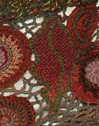 Surface Embellishments Renate Kirkpatricks Freeform Crochetknit