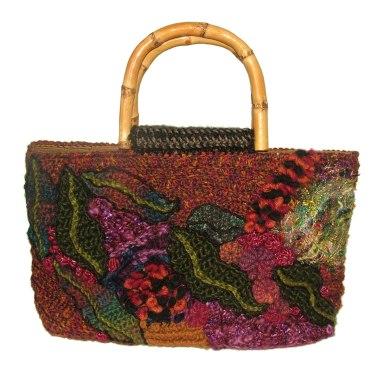 Autumn toned freeform bag