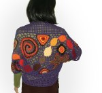 Purple shrug Bolero