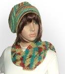 2ply beanie scarf set