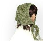 Freeform Crochet Hood