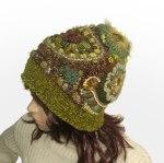 Freeform Crochet Beanie