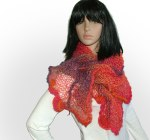 calypso Freestyle knitted shawl