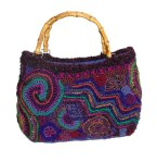Freeform bag spiral chevron